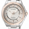 นาฬิกาข้อมือผู้หญิง Citizen Eco-Drive รุ่น FE6044-58A, Donna Super Titanium Ladies Sapphire 100m