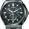 นาฬิกาข้อมือผู้ชาย Citizen Eco-Drive รุ่น BY0044-77E, Attesa Titanium Global Radio Controlled Chrono Sapphire