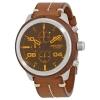 นาฬิกาผู้ชาย Diesel รุ่น DZ4440, Padlock Brown Chronograph