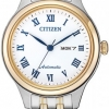 นาฬิกาผู้หญิง Citizen รุ่น PD7136-80A, Automatic Sapphire Japan Made Women's Watch