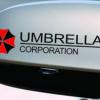 สติ๊กเกอร์แต่งรถยนต์ลาย umbrella ขนาด 4x15cm