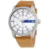 นาฬิกาผู้ชาย Diesel รุ่น DZ1783, Armbar Silver Dial Brown Leather Men's Watch