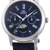 นาฬิกาผู้หญิง Orient รุ่น RA-KA0004L00C, Quartz Classic Sun & Moon Japan Women's Watch