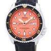 นาฬิกาผู้ชาย Seiko รุ่น SKX011J1-LS6, Automatic Diver's Ratio Black Leather 200M