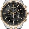 นาฬิกาข้อมือผู้ชาย Citizen Eco-Drive รุ่น AT2144-54E, Sapphire Chronograph