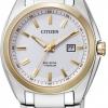 นาฬิกาข้อมือผู้หญิง Citizen Eco-Drive รุ่น EW2214-52A, Super Titanium Sapphire