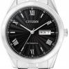 นาฬิกาข้อมือผู้ชาย Citizen Automatic รุ่น NH7510-50E, Sapphire Japan WR 50m Elegant