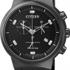 นาฬิกาชาย Citizen รุ่น AT2405-10E, Eco-Drive Chronograph Men's Watch