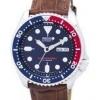 นาฬิกาผู้ชาย Seiko รุ่น SKX009J1-LS7, Automatic Diver's Ratio Brown Leather 200M