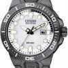 นาฬิกาข้อมือผู้ชาย Citizen Eco-Drive รุ่น BN0095-08A, Scuba Fin ISO Cert. 200m Professional Divers Watch