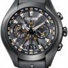 นาฬิกาผู้ชาย Citizen Eco-Drive รุ่น CC1075-05E, Satellite Wave Air GPS Titanium Black Ion Sapphire