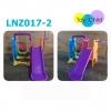 Kids Mini Playground ชุดสนามเด็กเล่น 3 in 1 ชิงช้า สไลเดอร์ พร้อมแป้นบาส ราคาถูก
