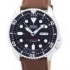 นาฬิกาผู้ชาย Seiko รุ่น SKX007J1-LS12 , Automatic Diver's Ratio Brown Leather