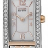 นาฬิกาข้อมือผู้หญิง Citizen Eco-Drive รุ่น EG2028-51A, Ladies Swarovski Sapphire Japan Dual Tone Elegant Watch