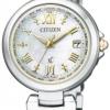 นาฬิกาข้อมือผู้หญิง Citizen Eco-Drive รุ่น EC1035-56W, XC Happy Flight Radio World Time
