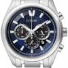 นาฬิกาข้อมือผู้ชาย Citizen Eco-Drive รุ่น CA4011-55L, Super Titanium Blue 100m Sapphire Japan Chronograph Watch