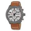 นาฬิกาผู้ชาย Diesel รุ่น DZ4438, Padlock Silver Chronograph
