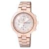 นาฬิกาผู้หญิง Citizen รุ่น BM2-225-11, Analog Casual Chrono Rose Gold JAPAN Watch