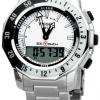 นาฬิกาผู้ชาย Tissot รุ่น T0264201103100, Sea-Touch Analog-Digital Chronograph Men's Watch