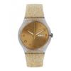 นาฬิกา ชาย-หญิง Swatch รุ่น SUOK704, Golden Sparkle