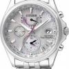 นาฬิกาข้อมือผู้หญิง Citizen Eco-Drive รุ่น FC0010-55D, Global Radio Controlled AT World Time
