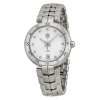 นาฬิกาผู้หญิง Tag Heuer รุ่น WAT1311.BA0956, Link Bracelet Diamond Dial Silver Stainless Steel Quartz Women's Watch