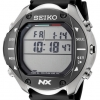 นาฬิกาผู้ชาย Seiko รุ่น STN009J1, Chronograph Computer Digital Diving Titanium Rubber Watch