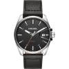 นาฬิกาผู้ชาย Diesel รุ่น DZ1862, MS9 Stainless Steel Black Leather Men's Watch