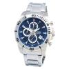 นาฬิกาผู้ชาย Citizen รุ่น AN3490-55L, Blue Dial Stainless Chronograph Men's Watch