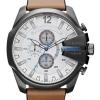 นาฬิกาผู้ชาย Diesel รุ่น DZ4280, Mega Chief Quartz Chronograph Gunmetal IP