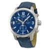 นาฬิกาผู้ชาย Tissot รุ่น T0554171604700, PRC 200 Chronograph Blue Leather