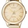 นาฬิกาผู้หญิง Citizen Eco-Drive รุ่น EM0502-86P, Elegant Mesh Bracelet