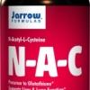 Jarrow Formulas N-A-C, N-Acetyl-L-Cysteine 500 mg 200 capsules