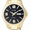 นาฬิกาผู้ชาย Citizen รุ่น BF2003-50E, Black Dial Gold Plated