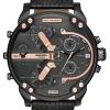 นาฬิกาผู้ชาย Diesel รุ่น DZ7350, Mr. Daddy 2.0 Quartz Chronograph Black Dial