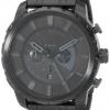 นาฬิกาผู้ชาย Diesel รุ่น DZ4349, Stronghold Black Stainless Steel Men's Watch