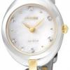 นาฬิกาผู้หญิง Citizen รุ่น EX1434-55D, Eco-Drive Silhouette Swarovski Crystal