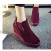 รองเท้าบูทเสริมสูงแฟชั่น
