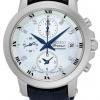 นาฬิกาผู้หญิง Seiko รุ่น SNDV59P2, Premier Chronograph Sapphire Quartz 100m