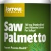 Jarrow Formulas Saw Palmetto 160 mg,120 Softgels