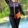 ชุดว่ายน้ำคนอ้วน พร้อมส่ง :ชุดว่ายน้ำสีดำตัดขอบสีส้มซิปหน้า set 5 ชิ้นมีเสื้อแขนยาว บรา กางเกงบิกินี่ด้านใน กางเกงขาสั้น กางเกงขายาว สีสวยแบบเก๋น่ารักมากๆจ้า:รายละเอียดไซส์คลิกเลยจ้า