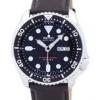 นาฬิกาผู้ชาย Seiko รุ่น SKX007J1-LS11, Automatic Diver's Ratio Dark Brown Leather