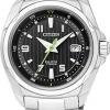 นาฬิกาข้อมือผู้หญิง Citizen Eco-Drive รุ่น EW1770-54E, Ladies Black Dial Super Titanium Sapphire Japan Watch