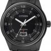 นาฬิกาข้อมือผู้ชาย Citizen Eco-Drive รุ่น AW1284-51E, Black IP Stealth 100m Sports Watch