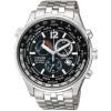 นาฬิกาข้อมือผู้ชาย Citizen Eco-Drive รุ่น AT0365-56E, Sapphire Chronograph Japan World Time