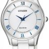 นาฬิกาผู้หญิง Citizen Eco-Drive รุ่น EM0400-51B, Citizen Collection Sapphire Made In Japn Women's Watch