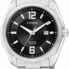 นาฬิกาข้อมือผู้ชาย Citizen Eco-Drive รุ่น BM7081-51E, Super Titanium Sapphire Japan 100m