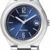 นาฬิกาข้อมือผู้หญิง Citizen Eco-Drive รุ่น FE6020-56L, Donna Joy Ladies WR 50m Elegant Blue Dial