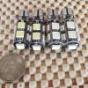 ไฟหรี่- ไฟส่องป้ายขั่ว t10 แบบ canbus หลอด led 9 ดวง