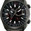 นาฬิกาข้อมือผู้ชาย Orient รุ่น SUU09001B0, Quartz Multi Dial Calendar Black IP Japan